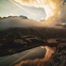 Wolkenlandschaft Bernardinopas - Graubünden - Schweiz von Felina Photography