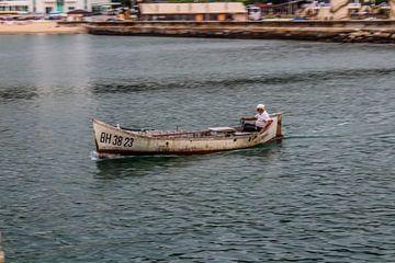 Eenzame visser van