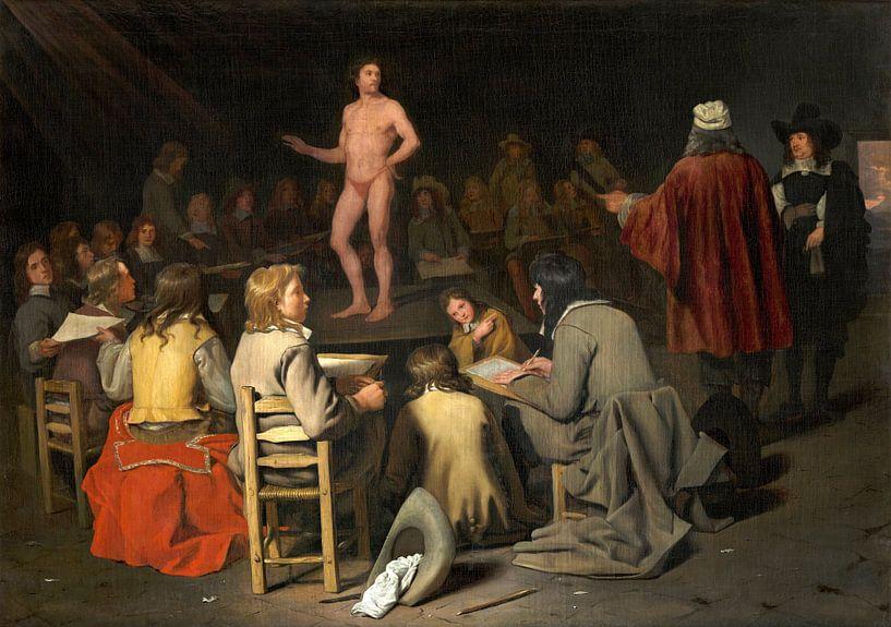 The Drawing Class, Michiel Sweerts von Meesterlijcke Meesters