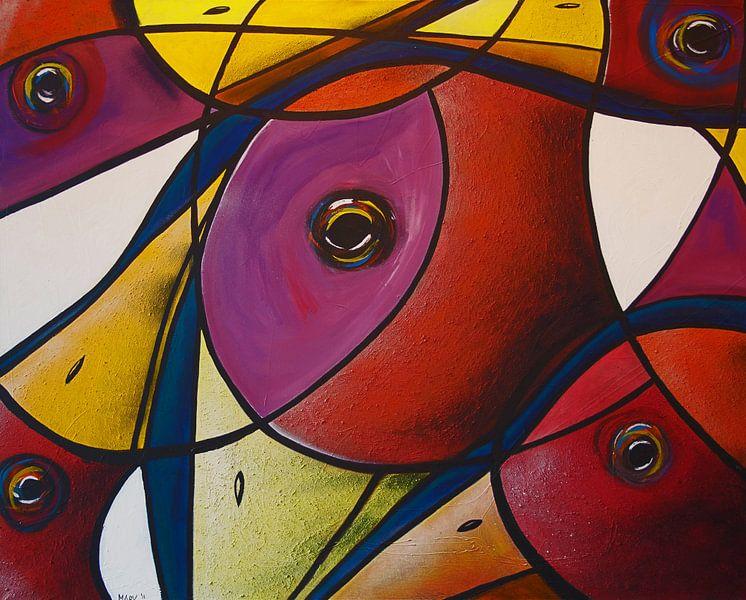 Glas in lood look 2! van Mary Pedersen