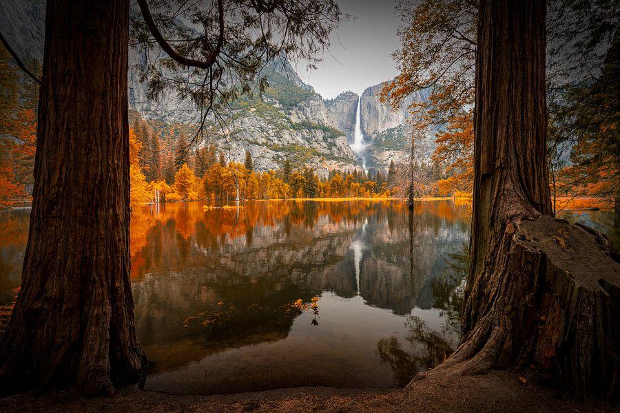 Herbst im Yosemite van Thomas Klinder