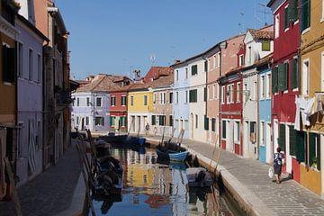 Farbige Häuser von Ronald Piters