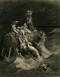 Die Sintflut - Gustave Dore - 1866