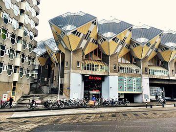 Kubuswoningen Rotterdam van Liesbeth Vollemans