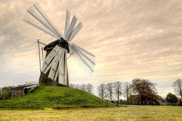 Korn Mühle von Fotografie Arthur van Leeuwen