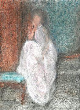 Dame in Weiß. von Ineke de Rijk