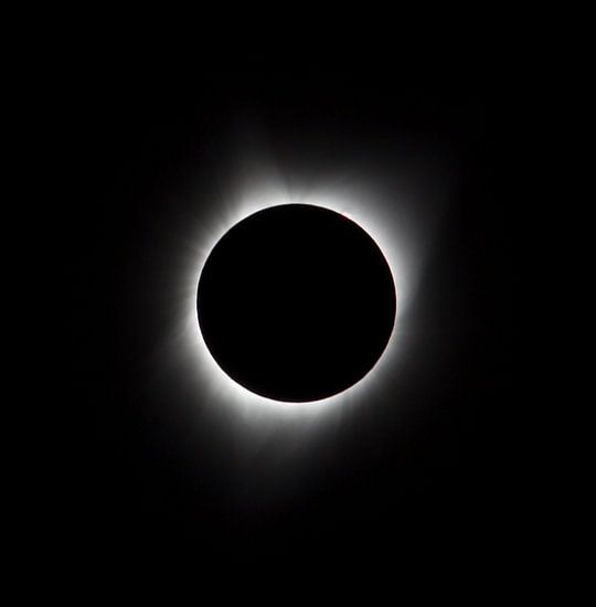zonsverduistering, corona, zonnevlammen, eclips, USA, Agate Fossil, 21 augustus 2017, zon, complete