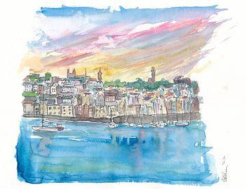 St Peter Port Guernsey Harbour Scene von Markus Bleichner