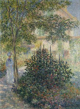 Camille Monet in the Garden at Argenteuil, Claude Monet sur