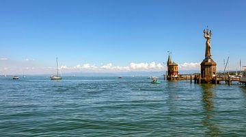 Haveningang van Konstanz aan het Bodenmeer van Jürgen Wiesler