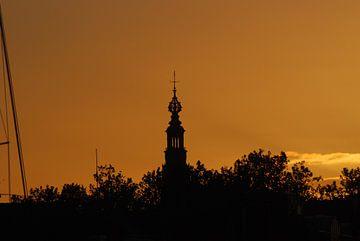 Skyline Leiden van Hans Koreman