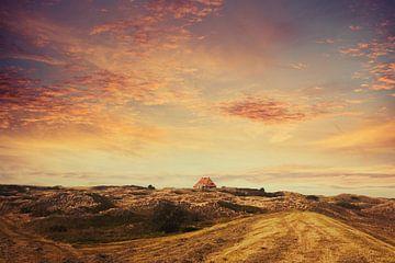 Sonnenuntergang unf Abendhimmel - Spiekeroog von Dirk Wüstenhagen