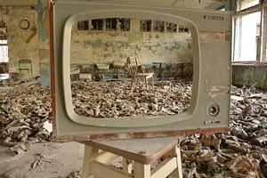 Gasmaskers gezien door tv