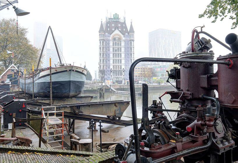 Oude haven Rotterdam von Huub Keulers