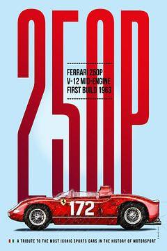Ferrari 250P Tribute von Theodor Decker