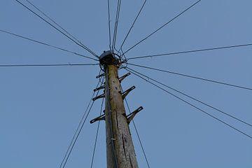 Ancien poteau électrique
