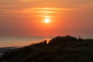 Sonnenuntergang in Zeeland von Peter Bartelings Photography