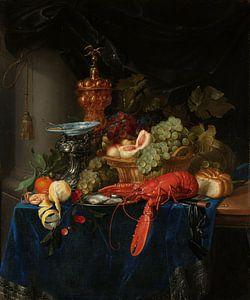 Pieter de Ring, Stilleven met een gouden bokaal