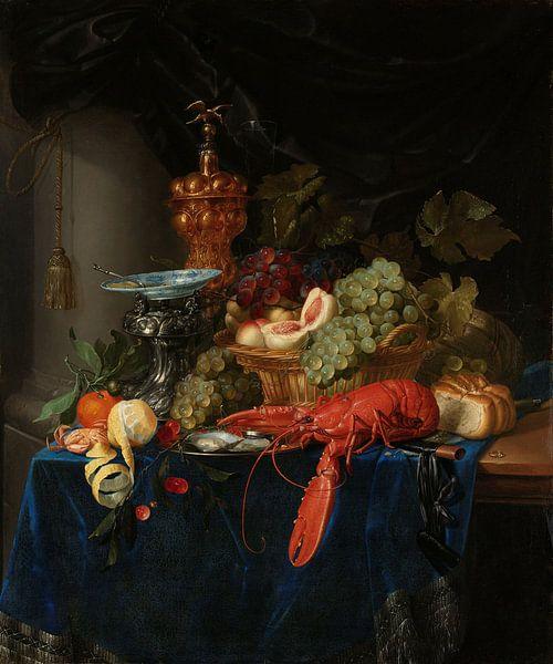Pieter de Ring, Stilleven met een gouden bokaal van Meesterlijcke Meesters
