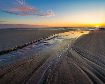 Zonsondergang Texel, Naar het zee van Anthony Trabano