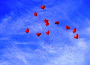 Hearts IV van Shirley Brandeis