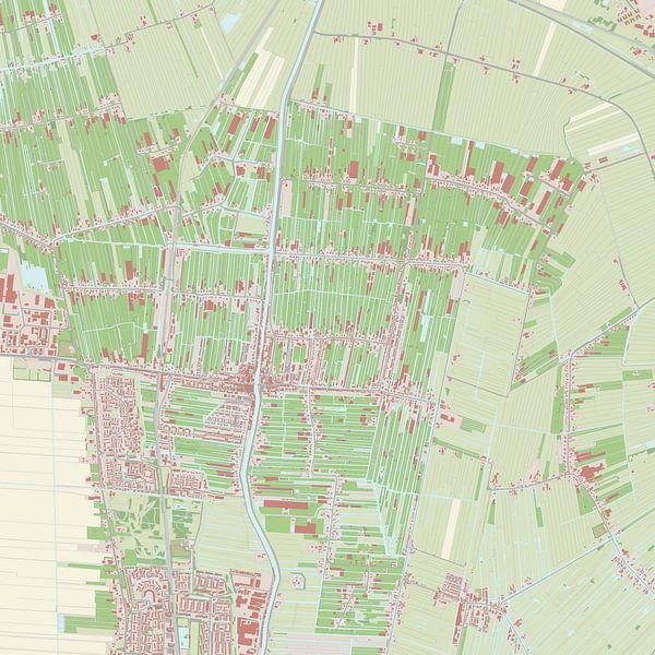 Kaart vanBoskoop