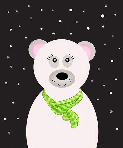 Polar Bear van Marion Tenbergen