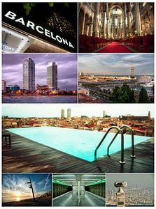 Barcelona Collage van Maurice Moeliker