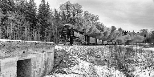 Stoomtreinen in de Harz, tijden van weleer herleven