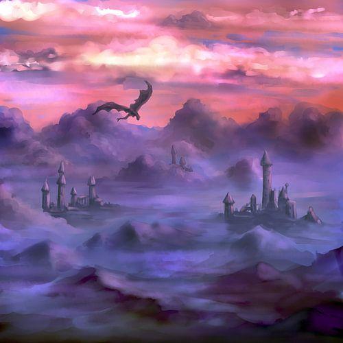 Boven de wolken van