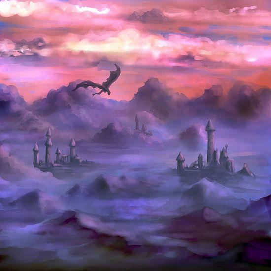Boven de wolken