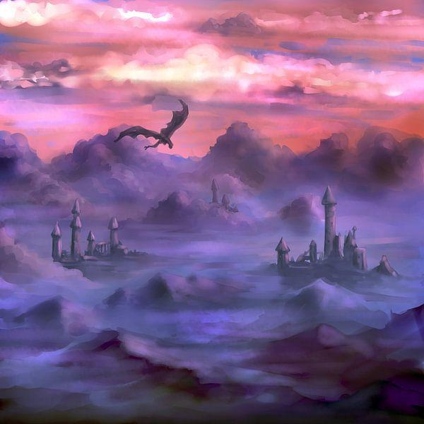 Boven de wolken von Petra van Berkum