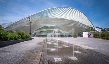 Station Luik-Guillemins sur Huub Keulers