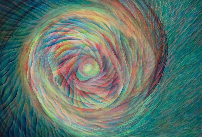 Kleurige kosmos 2 van Ingrid van El