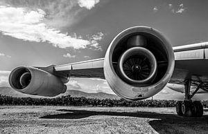 Straalmotoren van Convair 880 van
