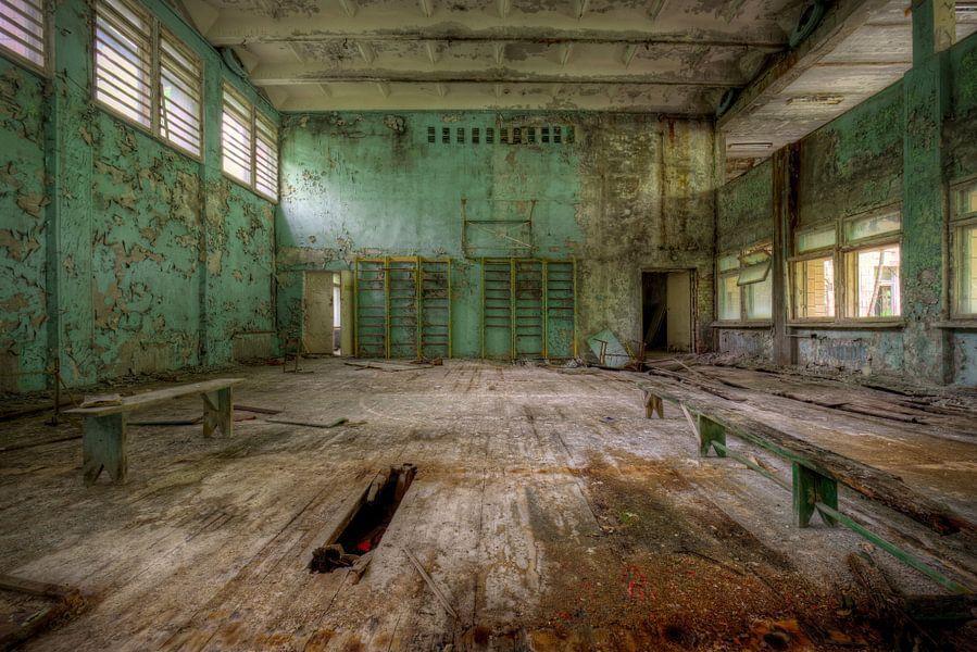 Gym in school van Henny Reumerman