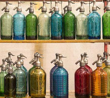 SELTZER-flessen, Ugur Erkmen van 1x