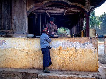 De Barmannen van Kalaw Myanmar van Rik Pijnenburg