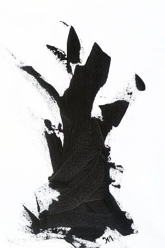 Tree of Life part 1   Zwart-wit abstract van