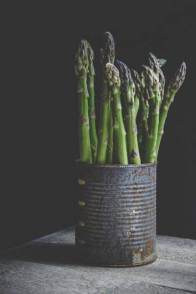 groene asperge van Els Van Echelpoel
