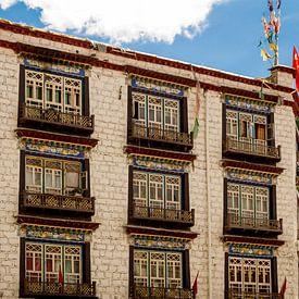 Gebouw in Lhasa (Tibet) van René Holtslag