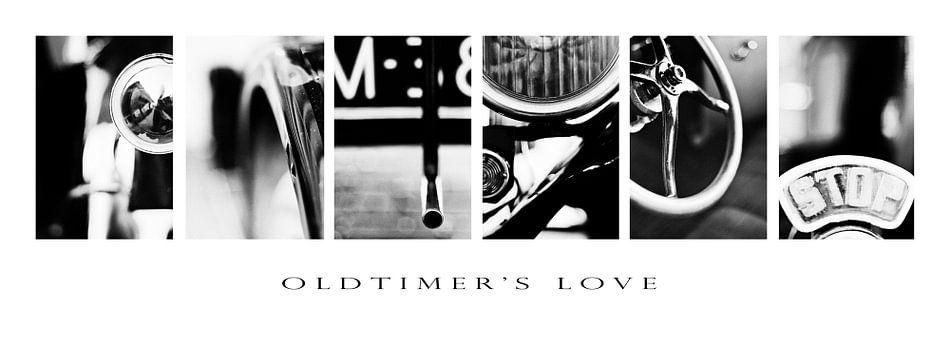 Oldtimer Love van Lawrence Mooij