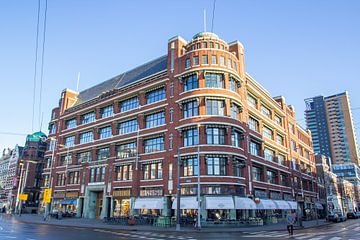 Das Atlantic Building Gebäude im Veerhaven in Rotterdam von Peter Boer