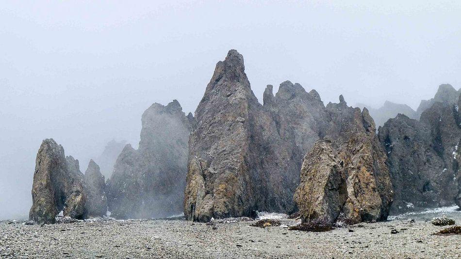 Mist in de Himalaya