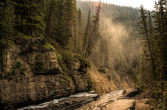 De mystieke Johnston Canyon