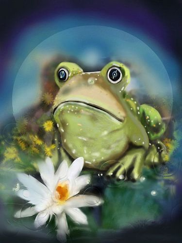 Groene kikker    frog