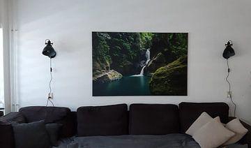 Klantfoto: Waterval  Pulau Weh, tropical waterfall