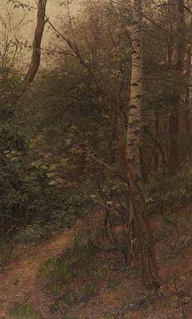 Birken am Waldrand, ALEXANDER KOESTER, Bis 1902 von Atelier Liesjes