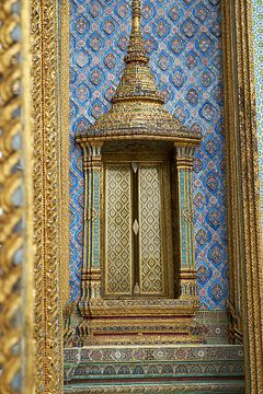 Thaise tempel koninklijk paleis Bangkok van Karel Ham