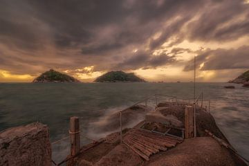 Koh Tao Thailand van